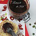 Pâte à tartiner de noël (riche en fruits et au chocolat)