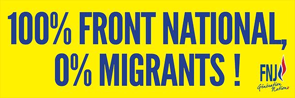 Affiche zero-migrants