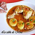 Bouillabaisse de poulet au pastis et rouille de foie