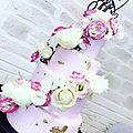 Voici l'un dès dernier wedding cake réalisé en septembre
