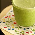 Smoothie vert détox, encore un et même pas pour la gourmandise !