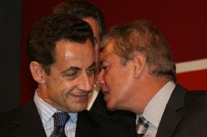 Richard Dell'Agnola avec Nicolas Sarkozy