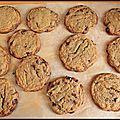 La magie du beurre noisette - cookies au beurre noisette et aux pépites de chocolat