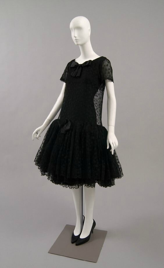 Woman's Cocktail Dress by Cristóbal Balenciaga, Winter 1958