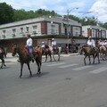 Parade des cowboys  Pawhuska (Oklahoma)