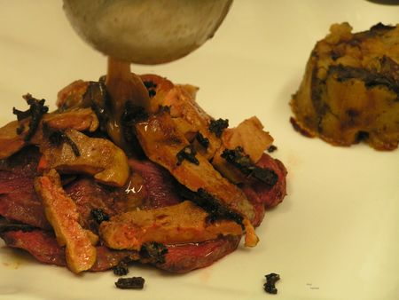 2012 11 29 cours de cuisine sur la truffe -Auberge de la truffe de Sorges (16)