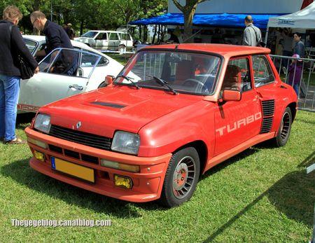 Renault 5 turbo (Retro Meus Auto Madine 2012) 01