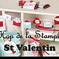 Blog hop de la stampin'class spécial st valentin !!!