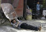 sieste afgane photo O Sobhani Reuters