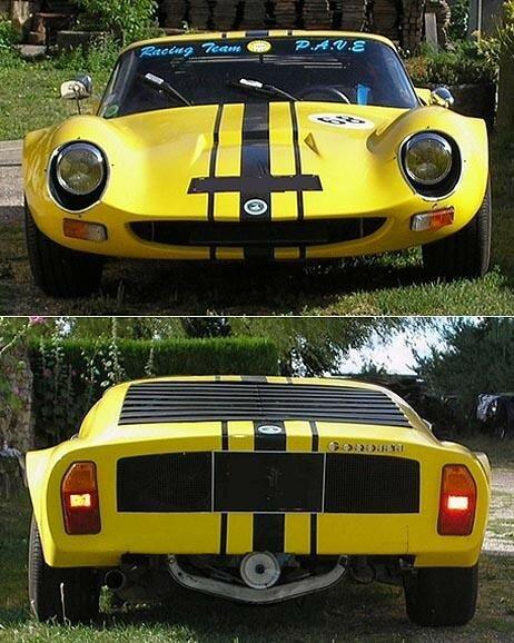 Marcadier Barzoï Proto Coupé - 1972