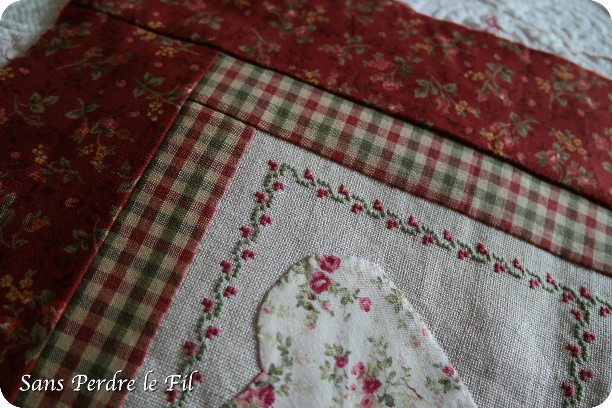 Coeurs d'antan - Bouts de tissu