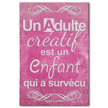 tableau-citation-art-adulte-creatif-rose