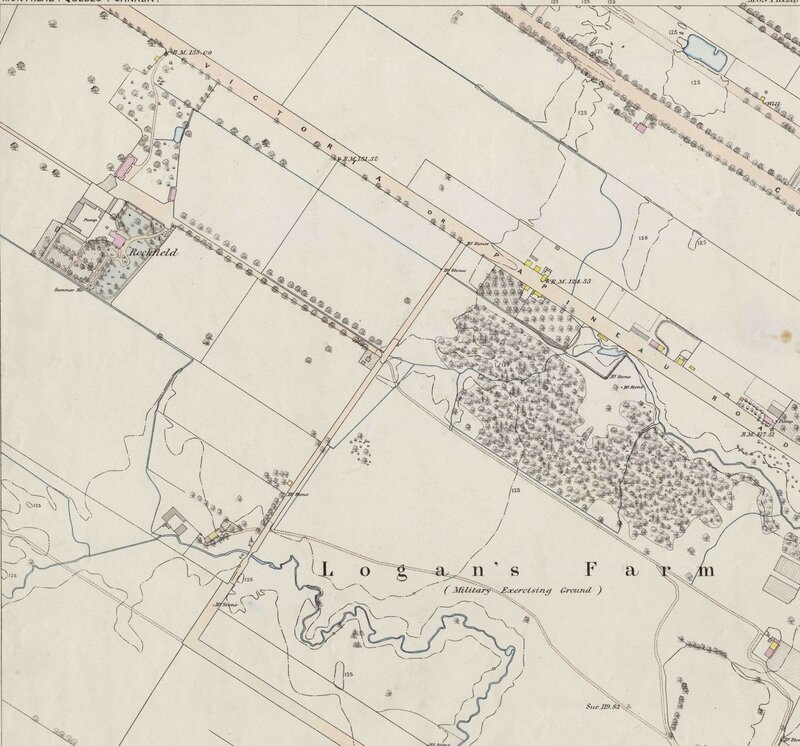 Rockfield fortifications survey 170 3-7