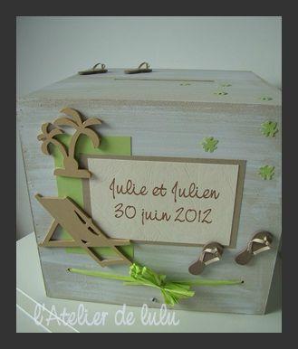 urne de mariage fait main tous les messages sur urne de mariage fait main page 2 l 39 atelier. Black Bedroom Furniture Sets. Home Design Ideas