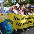 Rassemblement pour un monde sans nucleaire 12/07/2008
