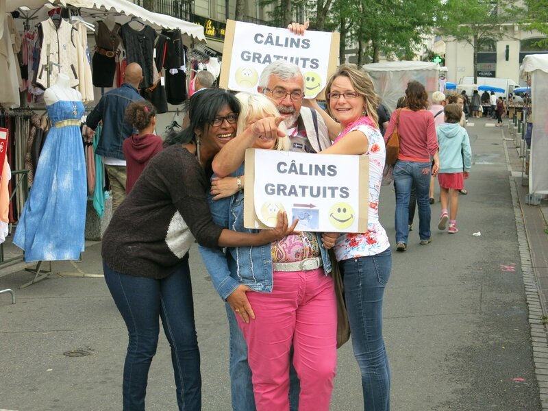 Photo Originale Free Hugs Cholet 050714