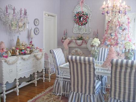 No l shabby shabby romantic - Decoration de noel interieur ...