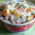 Au menu... riz cantonais