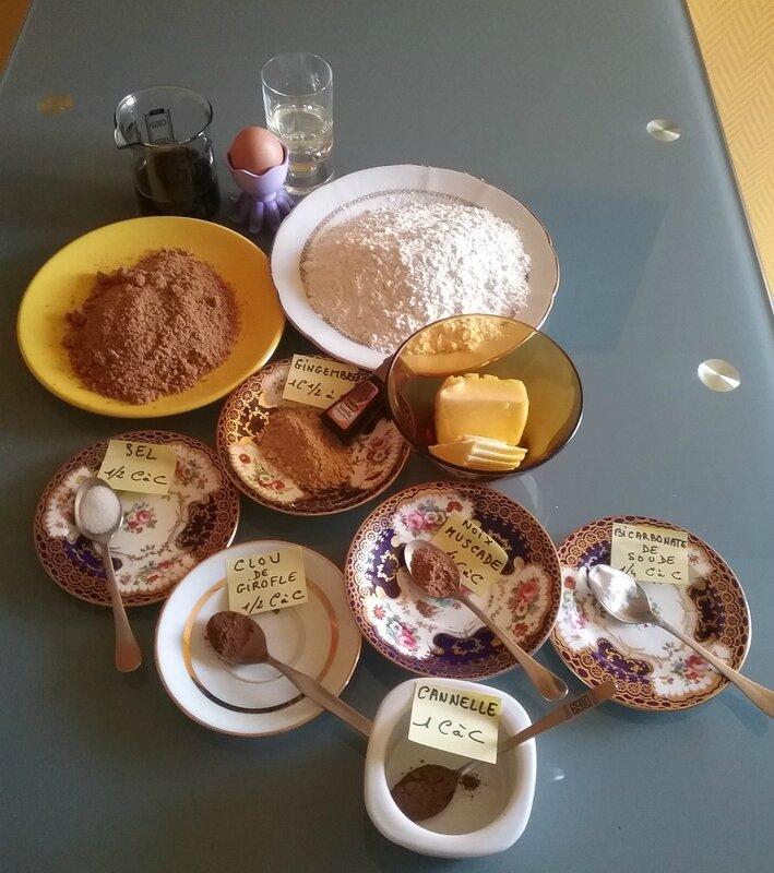 Biscuits anciens à la mélasse, gingembre et épices 060