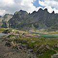 Les lacs robert, des pics et des peintres