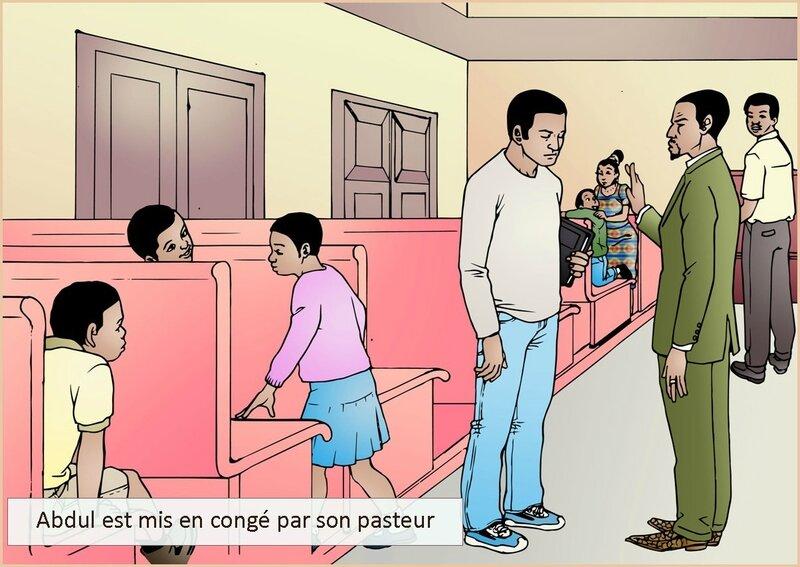 Abdul est mis en conge par son pasteur-nouvelle littéraire-chrétienne-Délires d'Amoureux