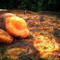 Tarte abricot romarin/Le plat du jour