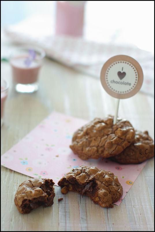 Chocolate chubbies ... des biscuits qui me feraient ...