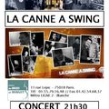 La Canne  swing et Nicolas Vicquenault  Paris