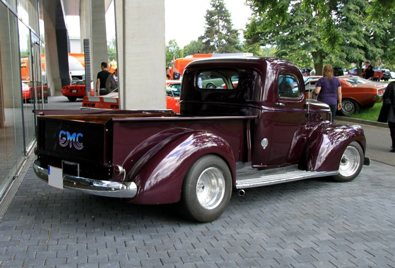 le gmc pick up custom regiomotoclassica 2010 the g g blog. Black Bedroom Furniture Sets. Home Design Ideas