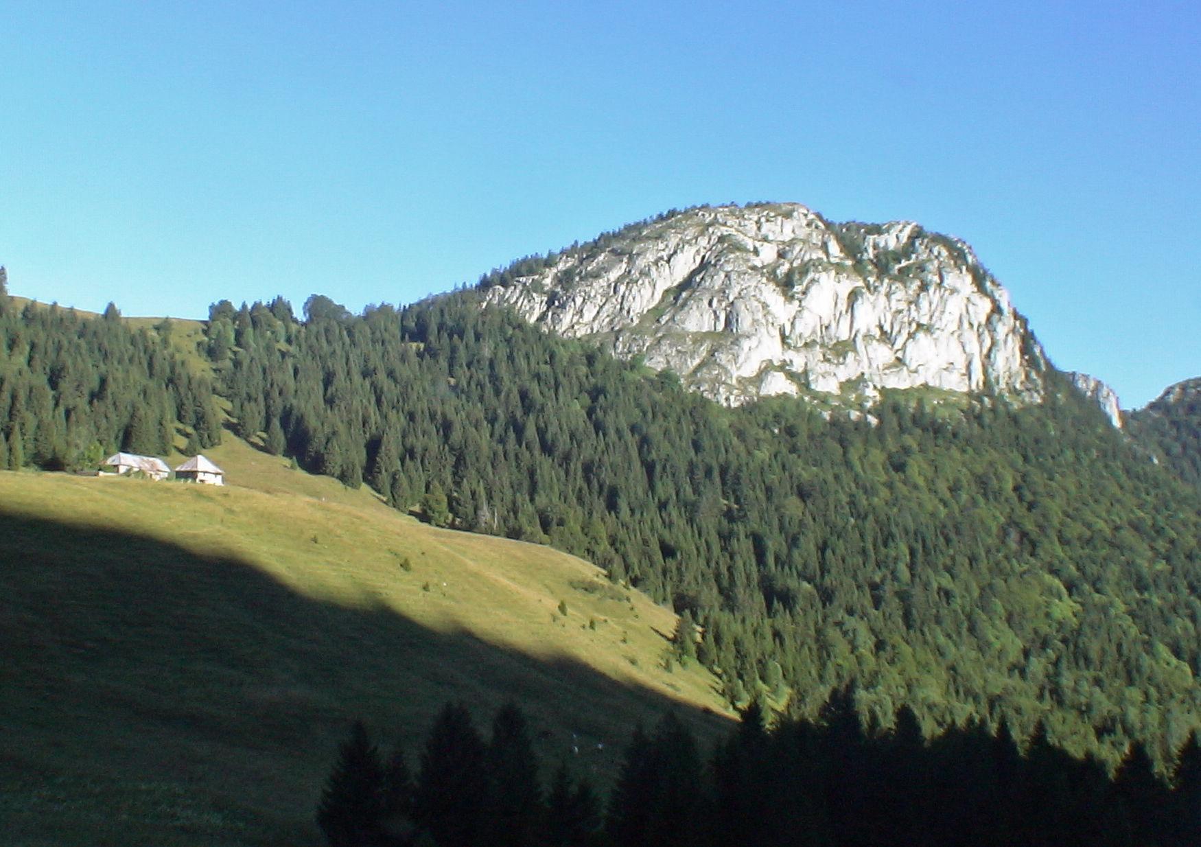 Roc de Four Magnin 1645 m du Reposoir - Bauges