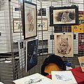 Stand Ghislaine Letourneur Festival des Prédateurs Carcom Lons le Saunier Jura Octobre 2015-2