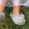 chaussures au crochet