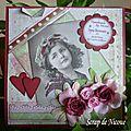 Carte d'anniversaire pour Bibiche 91 -Septembre 2011