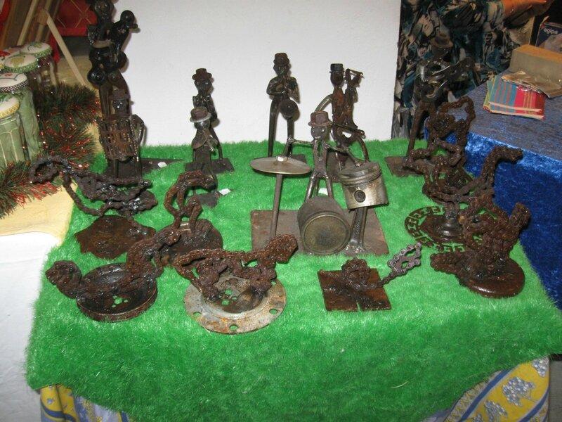 Les sculptures de Lucien FINO