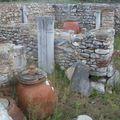 Amphores et ruines
