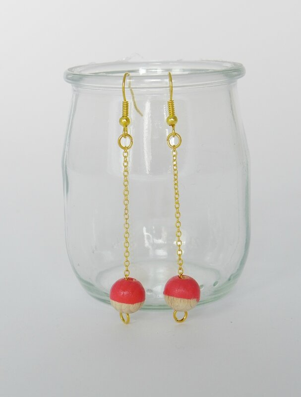 boucles corail or