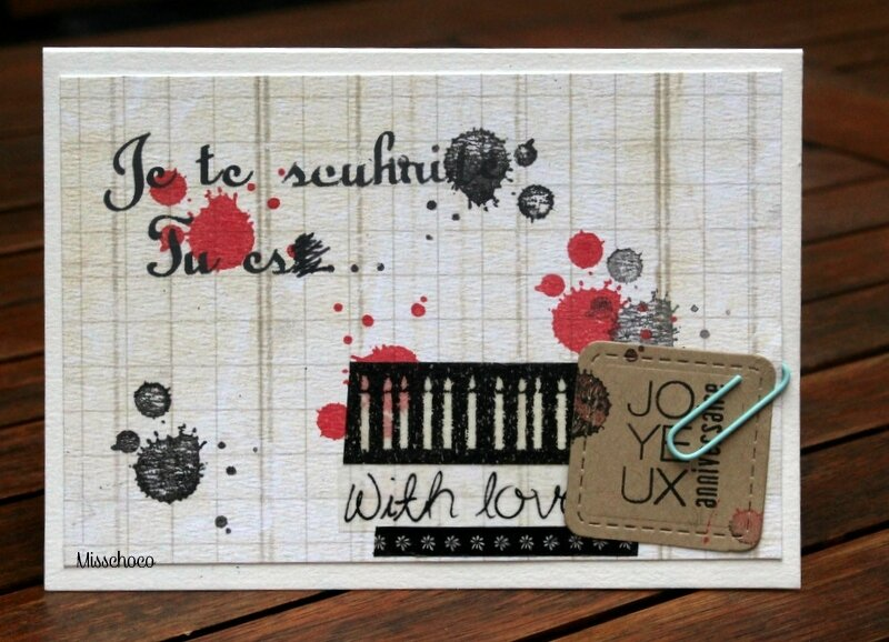 carte maniak et consignes little scrap