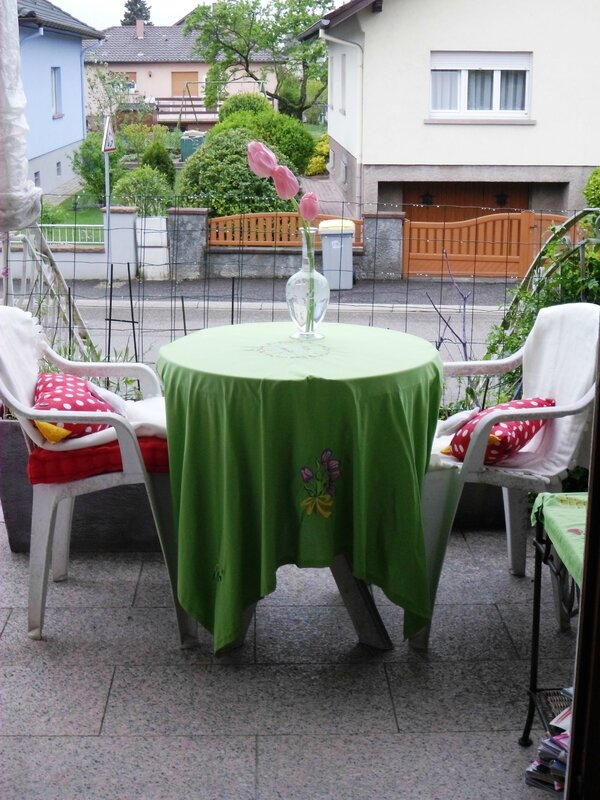 Petite table de printemps !