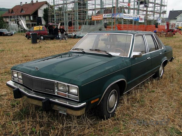 mercury zephyr 4door sedan 1978 a