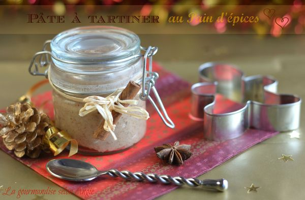 pate tartiner pain d'épices