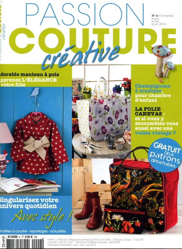 Passion couture couv