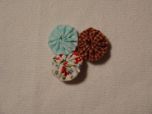 Mini-broche yo-yo