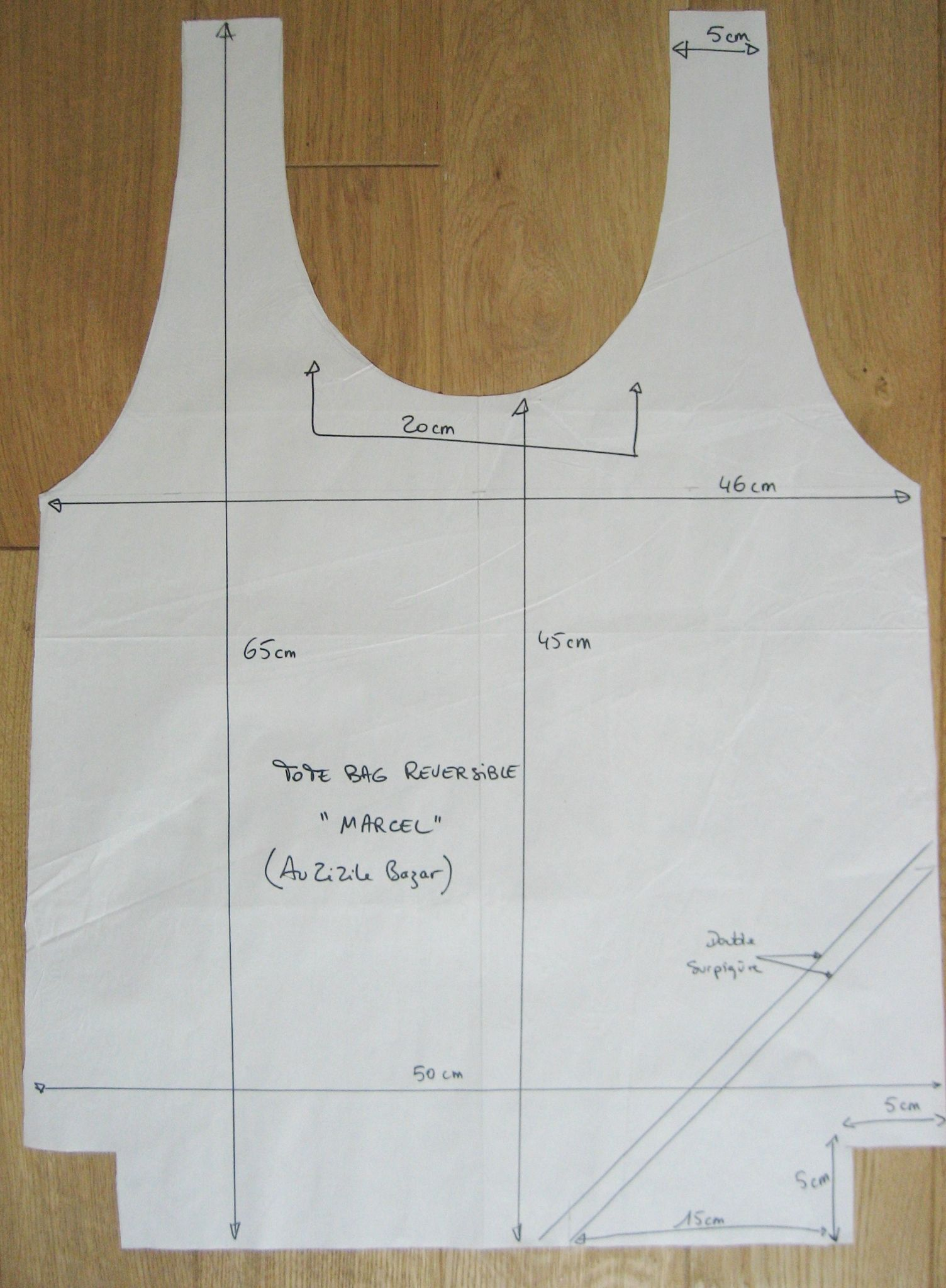 tuto couture marcel. Black Bedroom Furniture Sets. Home Design Ideas