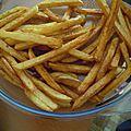 Des frites comme au restaurant !