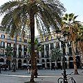 Barcelone, Placa Reial, vélo_6825