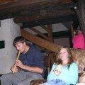 Crepes Party 28.08.06, entre flûte et djumbé, Geo' et Jo' ont bien animé la soirée