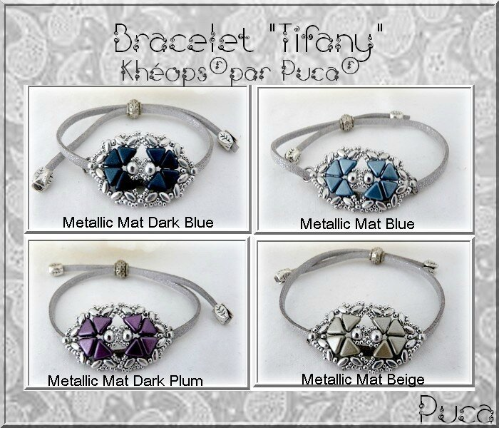 Tifany Collection argent Nom