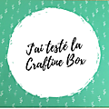{test + couture} la craftine box