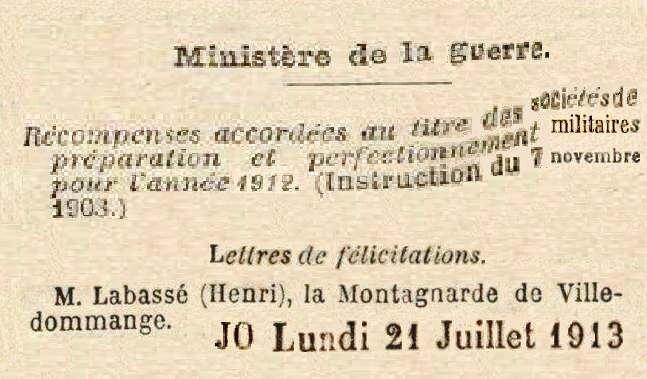 1913 LABASSE