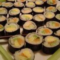 Des makis, et oui...